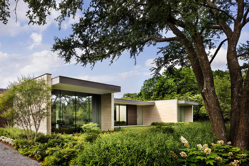 Preston Hollow Residence Bodron+Fruit Architecture Interior Exterior Design Architects Homes Houses Living