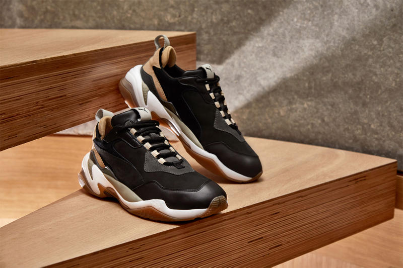 END Clothing PUMA THUNDER Sneaker Collaboration Shadow Rise Chunky Dad Sneaker Dad Shoes