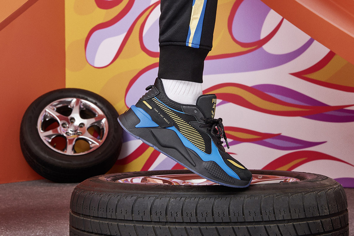 Mattel Hot Wheels x PUMA RS-X First Look | HYPEBEAST