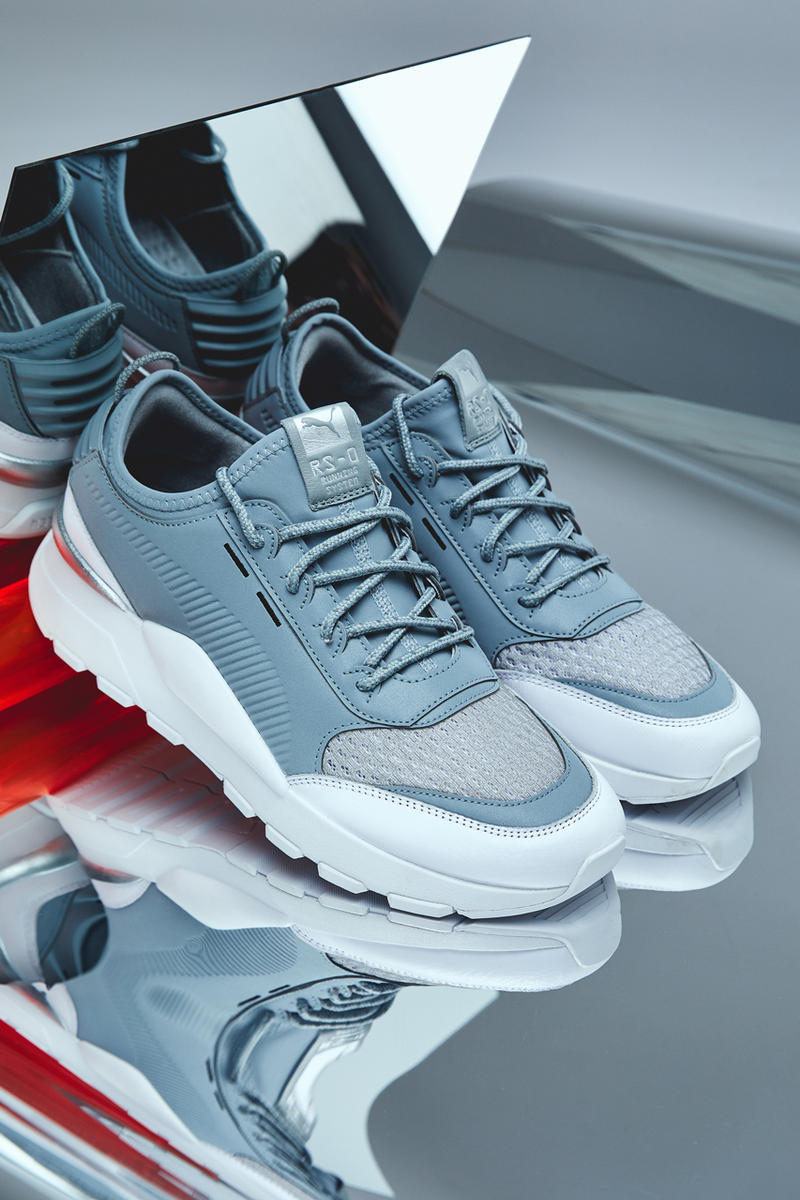 "PUMA RS-0 ""Optic"" Closer Look sneaker shoe running runner fashion 3m reflective silver white german mirror grey"