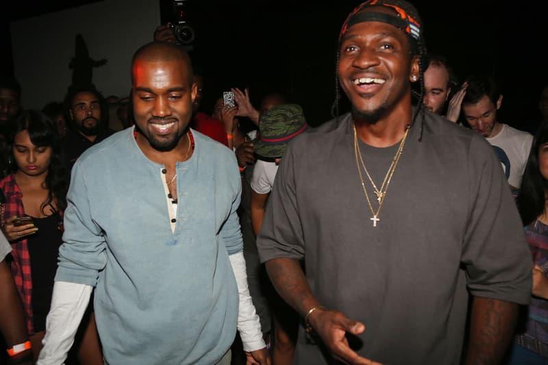 """Pusha T Wants Kanye West to Produce """"Daytona"""" Follow-Up albums music"""