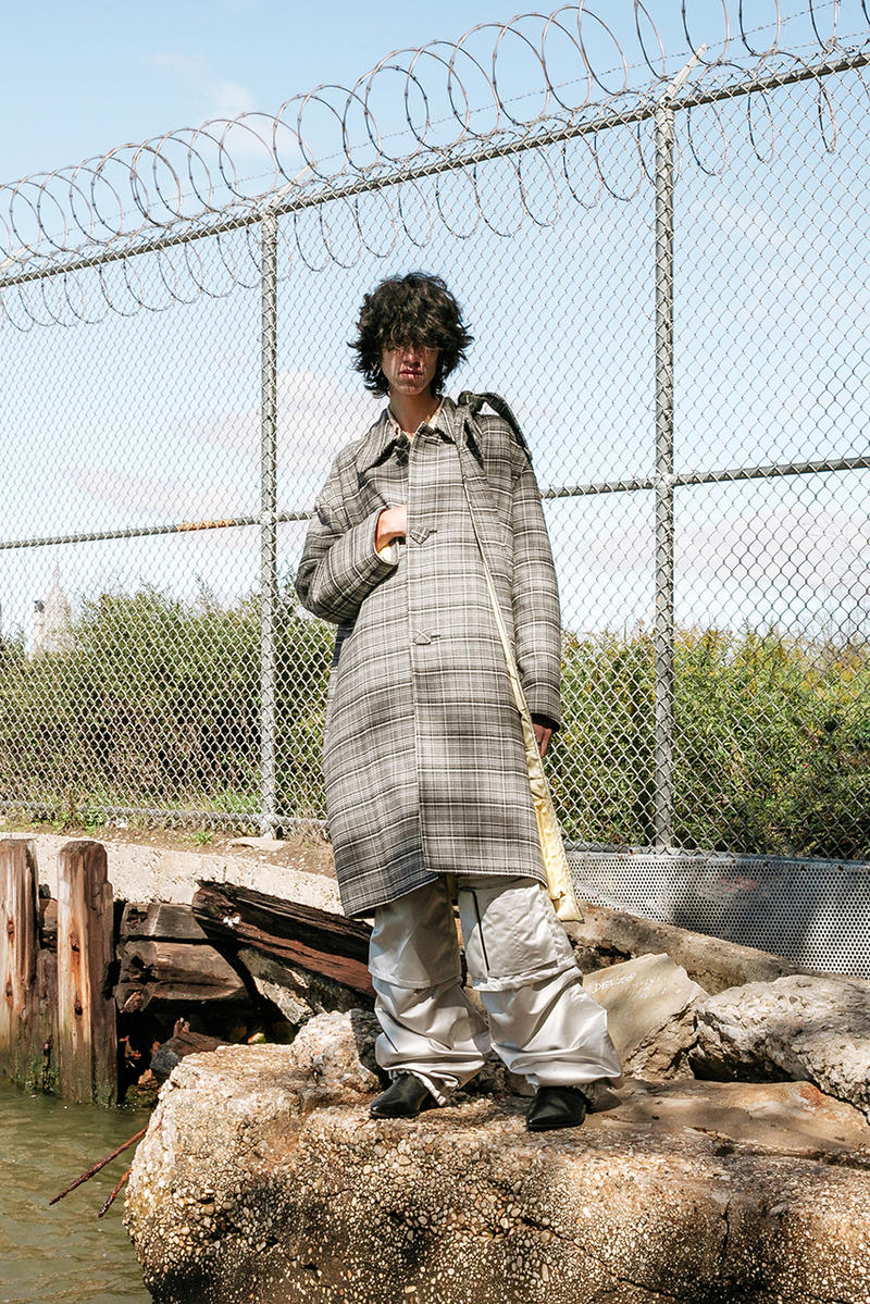 Raf Simons fall winter 2018 editorial look style idol brooklyn drugs domino park new york
