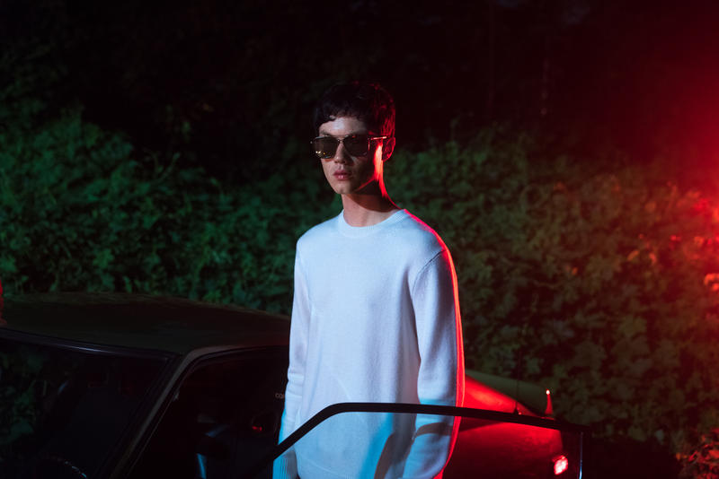 rag & bone x Safilo Fall 2018 Lookbook sunglasses glasses eyewear frames