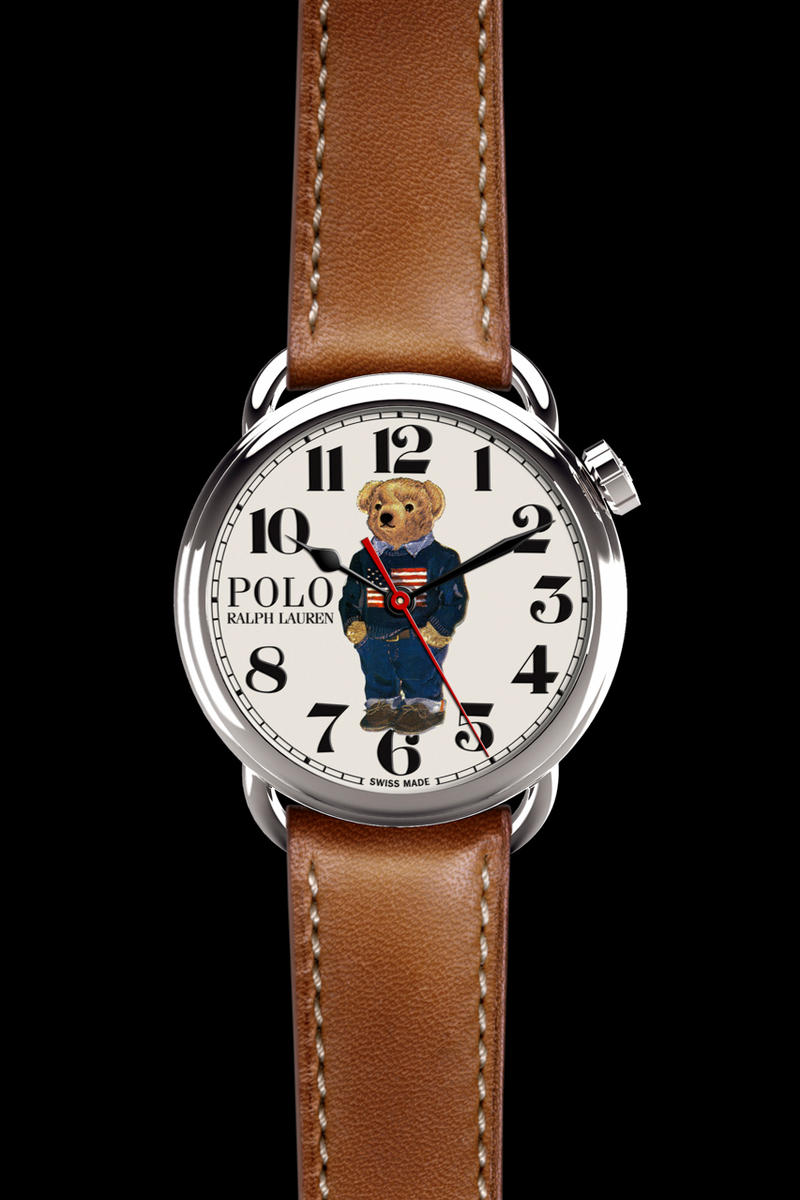 Ralph Lauren Polo Bear Watch Collection 50 anniversary timepiece release  date price buy online flag bear 6abe068703614