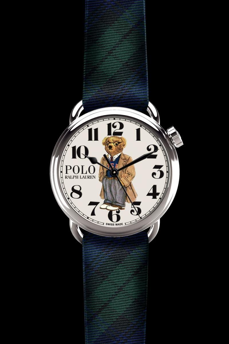 Ralph Lauren Polo Bear Watch Collection 50 anniversary timepiece release date price buy online flag bear preppy bear martini bear spectator bear