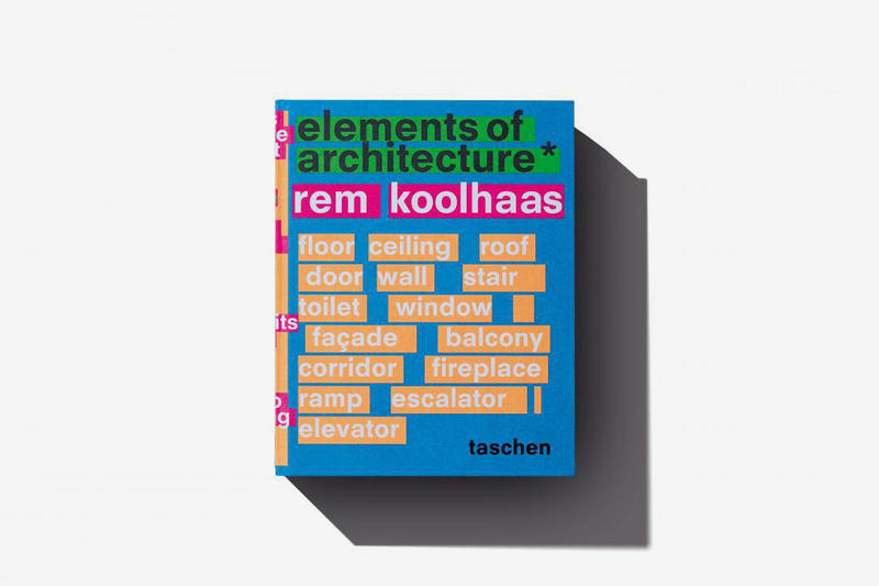 Rem Koolhaas 'Elements Of Architecture' Book | HYPEBEAST