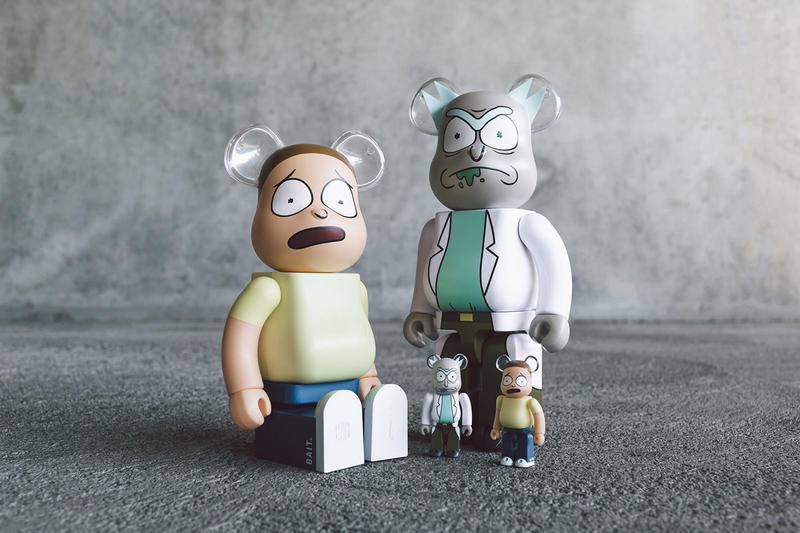 bait rick and morty medicom toy bearbrick figure collectible 100 400 exclusive november 3 2018 drop release date info retail buy sell