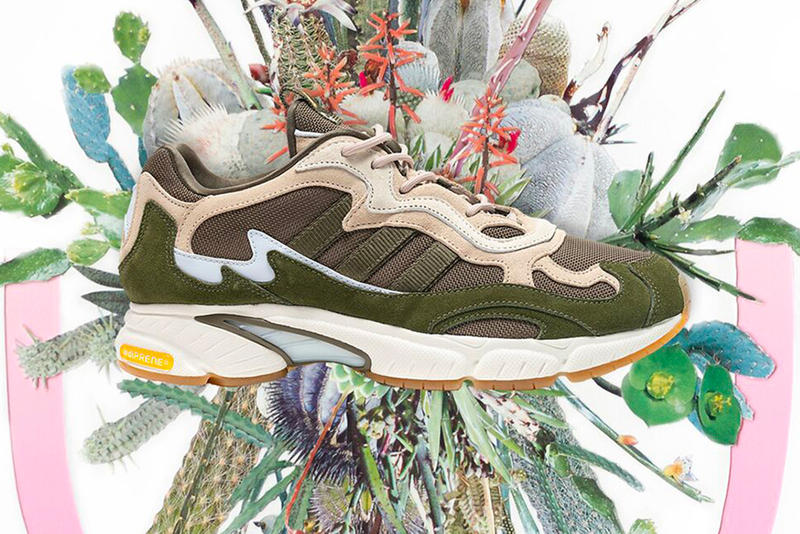 Saint Alfred adidas Consortium Temper Run Release Stephen Eichhorn White Green Brown Light Dark