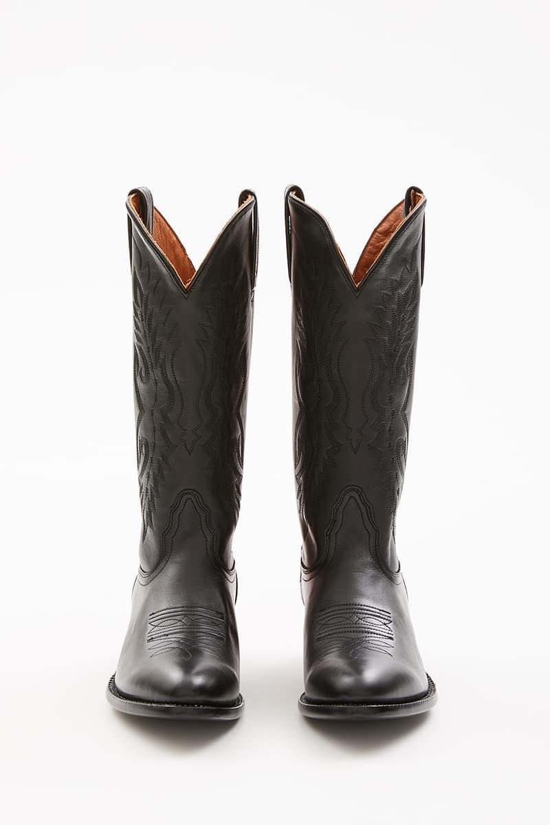 7f9bf097997 Sarah Morris x Helmut Lang Painted Cowboy Boots | HYPEBEAST