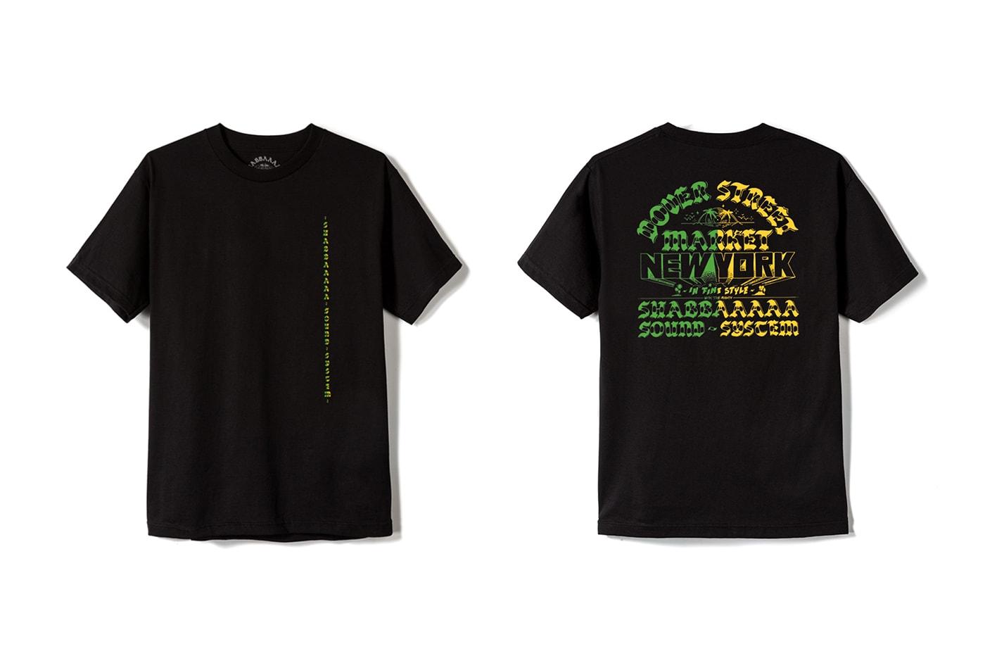 meilleures baskets 58c58 45b93 SHABBAAAAA & DSMNY Collaborative T-Shirt Design | HYPEBEAST