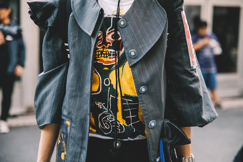 hypebeast shanghai fashion week street style snaps runway spring summer 2019 china