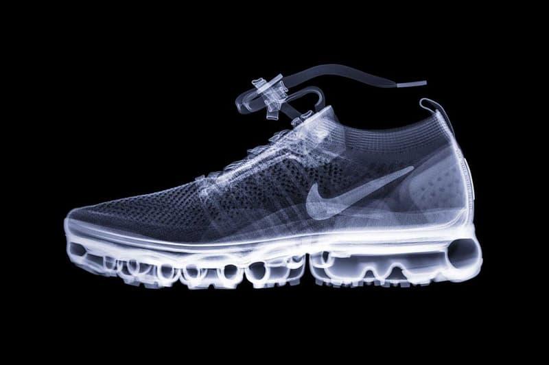 Sneaker X-Ray Photoseries Hugh Turvey yeezy desert rat 500 balenciaga triple s gucci sega louis vuitton archlight nike air vapormax flyknit fila disruptor