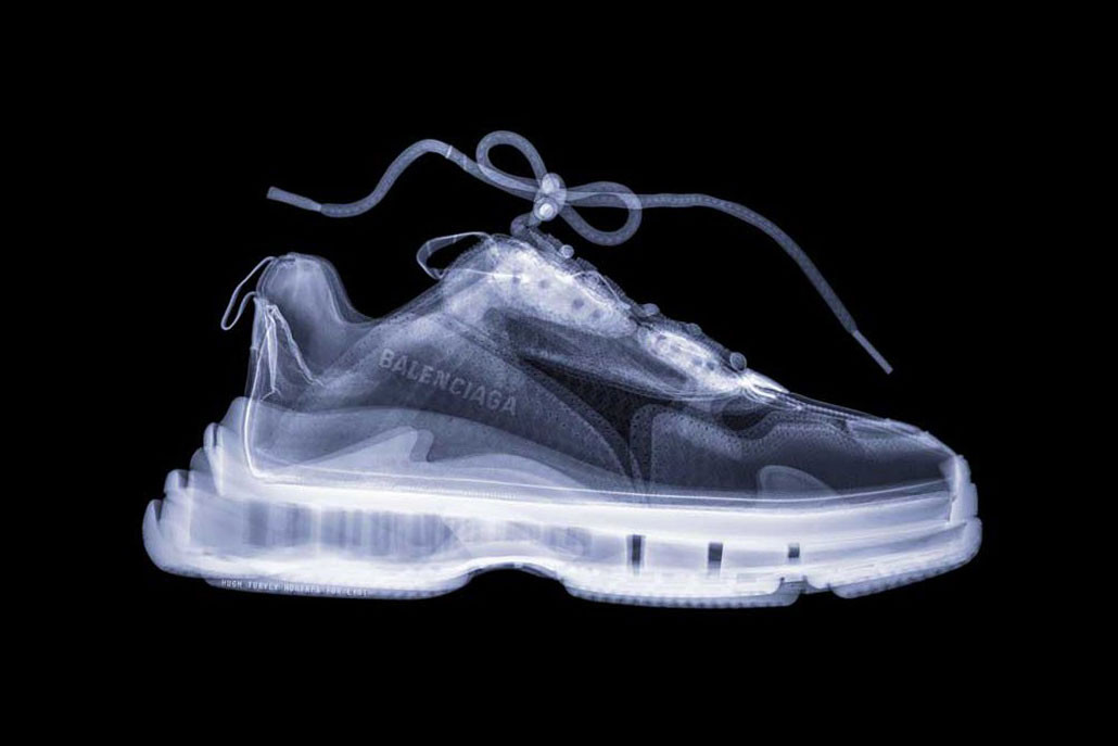 Sneaker X-Ray Photoseries By Hugh Turvey | HYPEBEAST