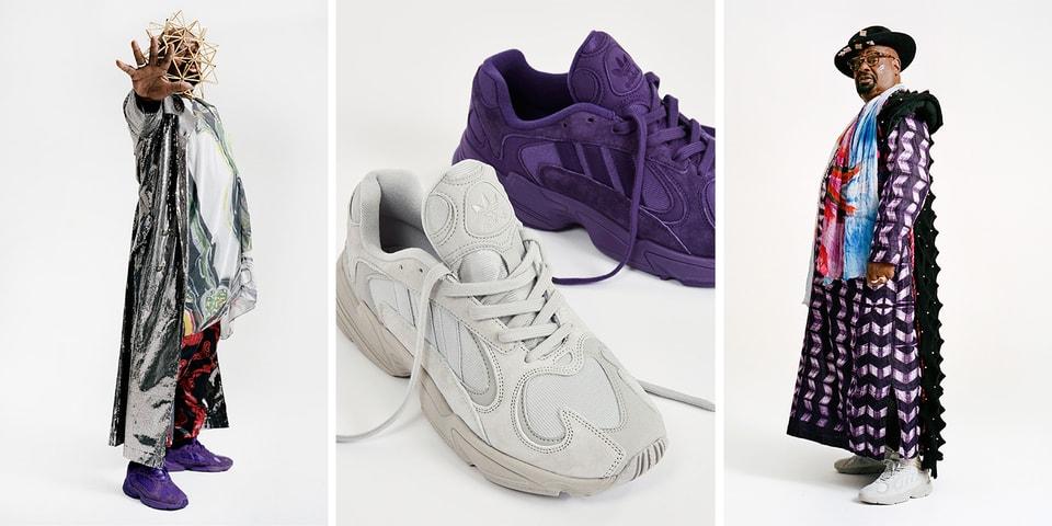 Sneakersnstuff x adidas Yung-1 George Clinton  eabc3008c