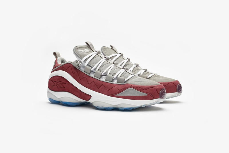 Sneakersnstuff Reebok DMX Run 10 Collaboration sneaker sneakers release date october 2018 19 25 details info release date grey red white blue
