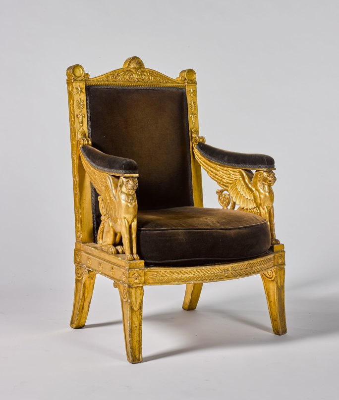"Sotheby's ""The Midas Touch"" Gold Auction ferrari car kate moss bust yves klein napoleon chair throne london sale bids"