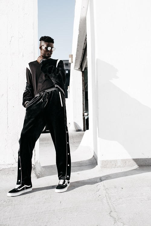 STAMPD Fall Winter 2018 Uniform Lookbook line collection label fw18 clothes outerwear jackets sweaters hoodies pants joggers sweats t shirts tees