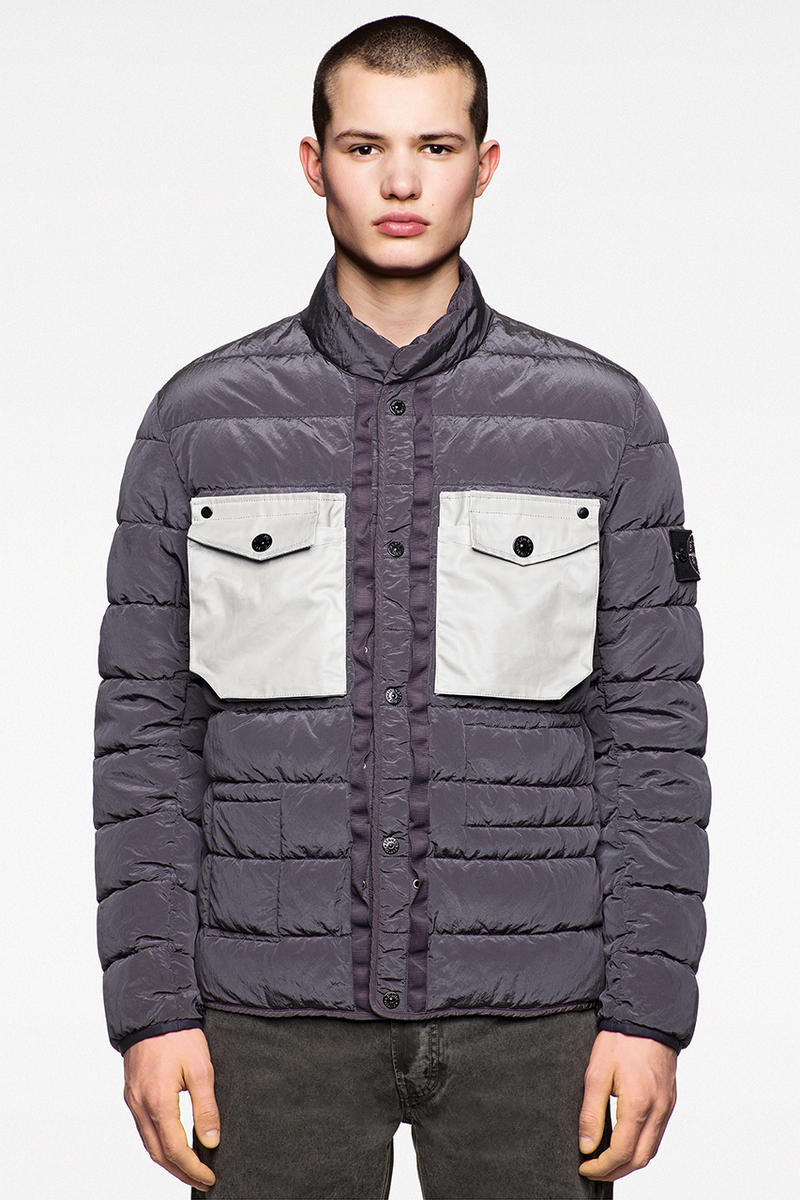 Harris Tweed x Stone Island Polymorphic Ice Collection Release Date Details 25 October Cop Purchase Buy Clothing Fashion Brand