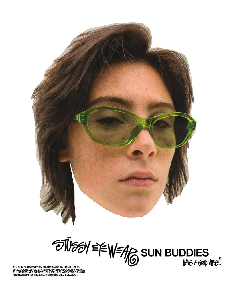 Stüssy x Sun Buddies Collection Release Date sunglasses eyewear tinted shades price accessories stockists