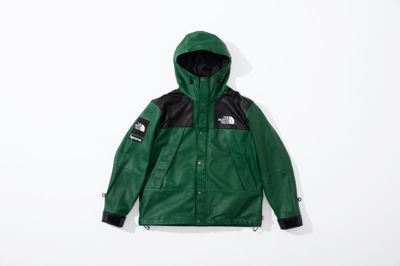 Supreme X The North Face Fw18 Leather Collection Hypebeast