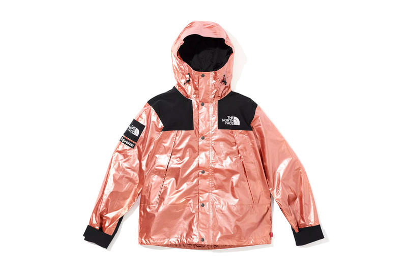 f9ba5de6e7 Mountain Parka Supreme x The North Face Jacket 50% Off TJ Maxx metallic  rose metal