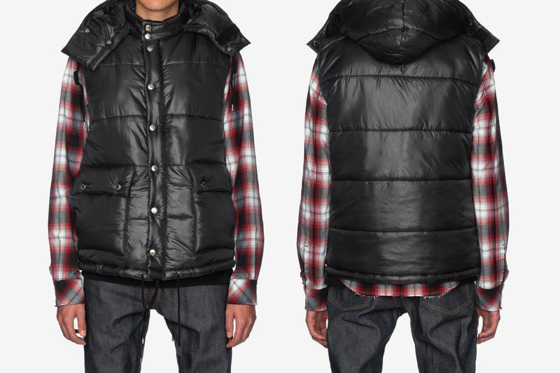 TAKAHIROMIYASHITA TheSoloIst. Fall Winter 2018 Outerwear Anorak Explorer Jacket Outer Hood Black