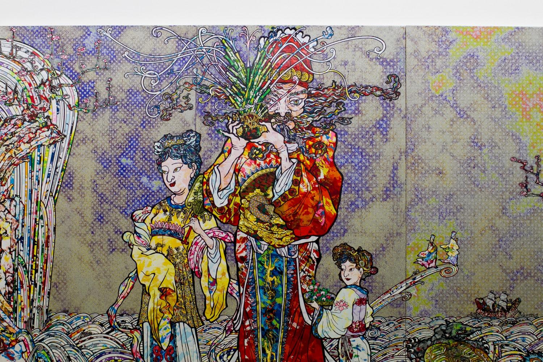 takashi murakami change the rule gagosian kaikai kiki mr madsaki art kai kai kiki Hong Kong Japan Super Flat Color MR. Pop DOB Flower