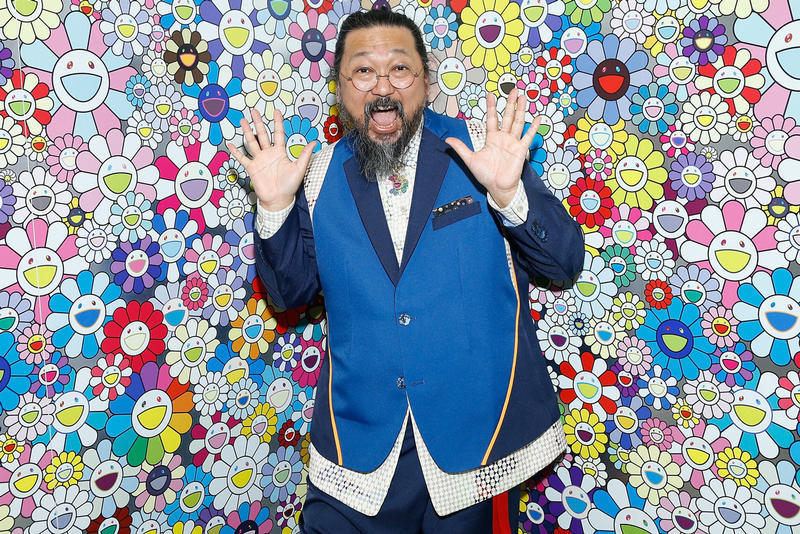 takashi murakami perrotin shanghai exhibition paintings artworks installations sculptures shows