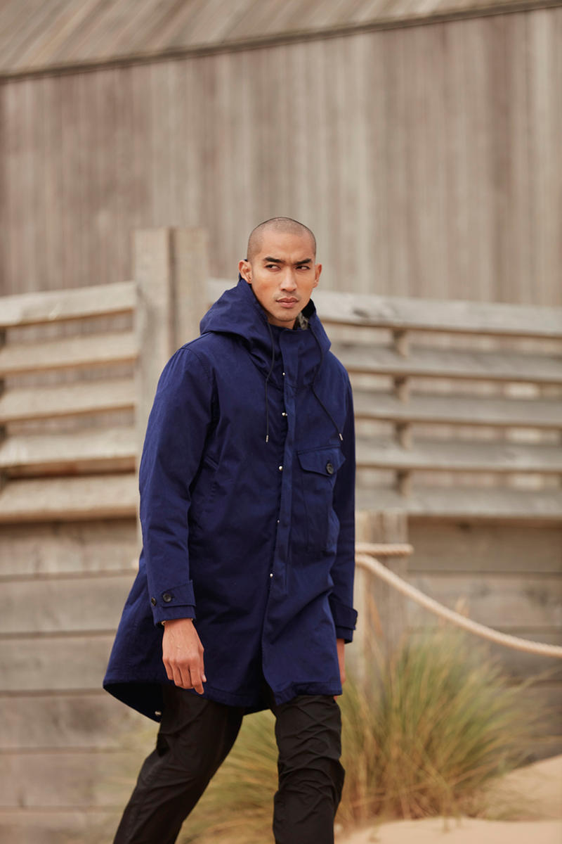 Ten C Fall/Winter 2018 Collection Outerwear Liner Jacket Sherpa Lining