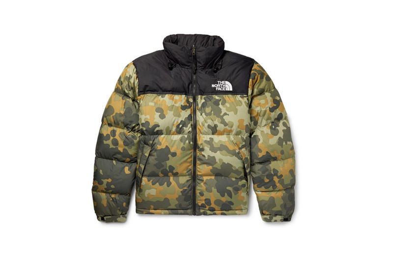 The North Face Mountain Camo Print Item Release jackets mittens gloves winter down coat puffy jackets gore-tex rain weather protection elements cold outerwear