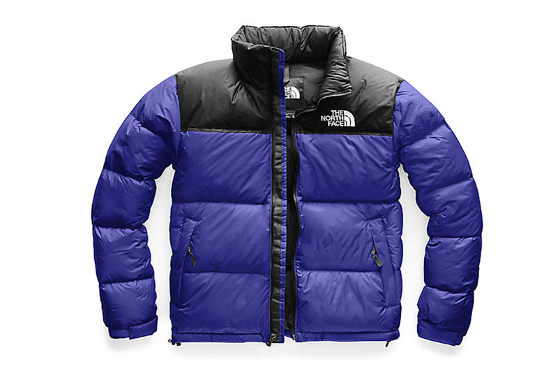 The North Face Nuptse Jackets blue black red yellow orange grey gold release info