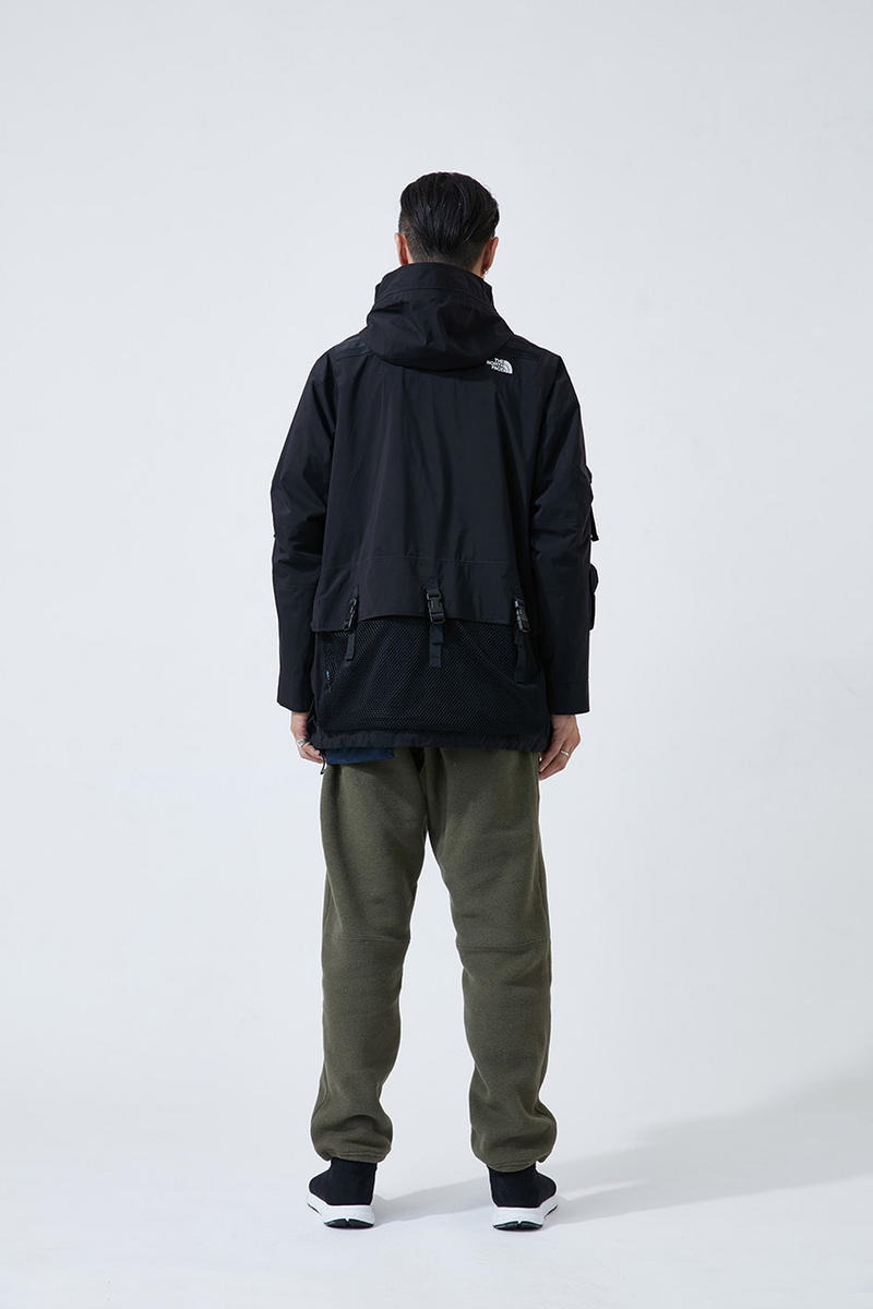 kazuki kuraishi The North Face Urban Exploration black series collaboration Lookbook Cop Purchase Buy Collection drop release date info october 22 24 2018