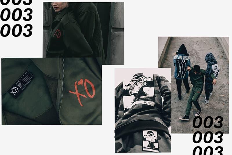 The Weeknd Third XO Merch Collection 2018 lookbooks MERCH RELEASE 003