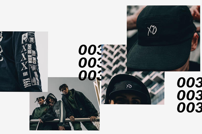 The Weeknd Third XO Merch Collection 2018 lookbooks MERCH RELEASE 003