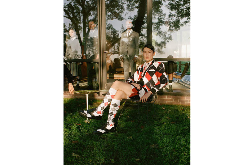 thom browne fall winter 2018 fw18 golf capsule collection tennis series