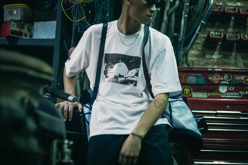 thrive motorcycle elhaus capsule collection collaboration apparel clothing jackets shirts fashion style jakarta indonesia