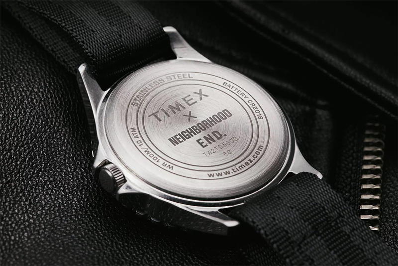 Timex x NEIGHBORHOOD x END. Collaboration Details Watch Watches Fashion NAVI Release Details