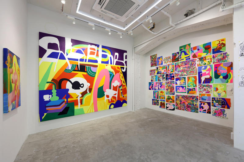 todd james natures candy exhibition nanzuka gallery tokyo shinji show artwork october 2018