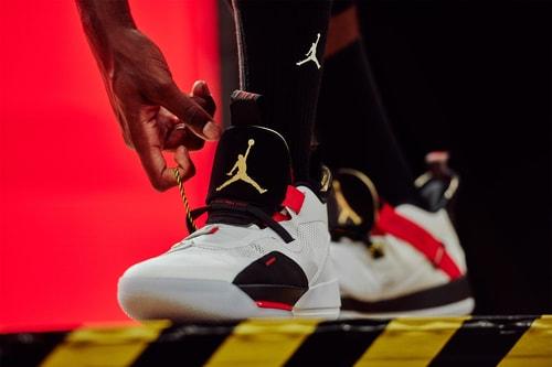 Travis Scott Promotes the Air Jordan 33 for New Nike Visual