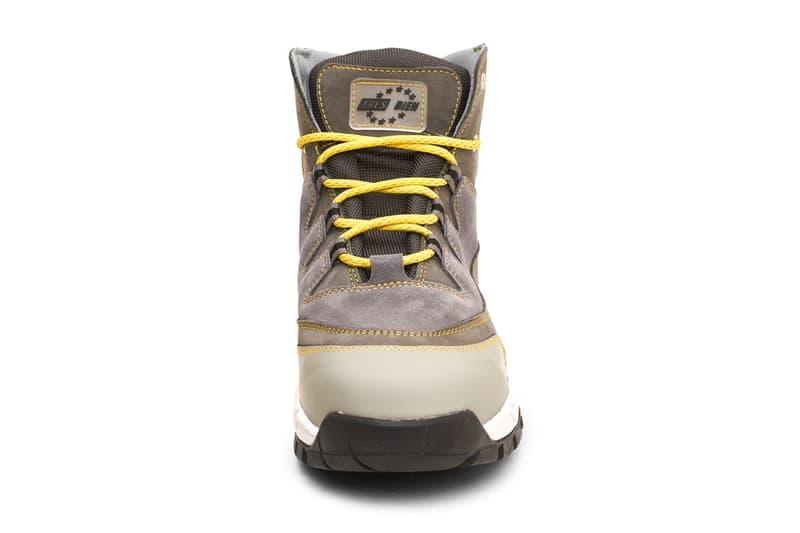 Très Bien Diemme Trebbio Vet Hiking Boot grey beige khaki release info collaborations