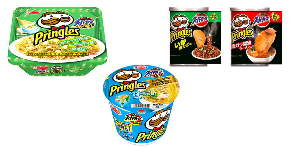 Pringles начали делать вермишель быстрого приготовления 2