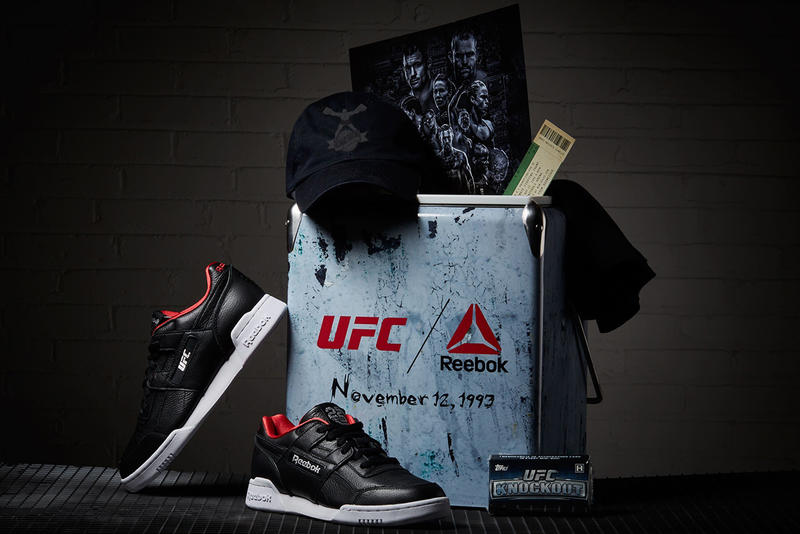 c8940fbce79 UFC x Reebok Workout Plus Release Date sneaker 25 anniversary colorway  black price info buy online
