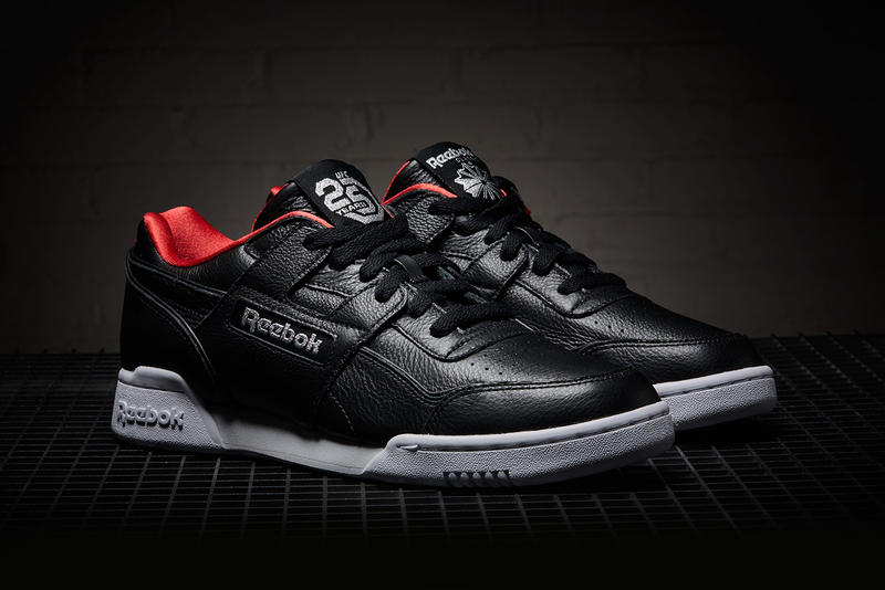 eed4076f5dfc UFC x Reebok Workout Plus Release Date sneaker 25 anniversary colorway  black price info buy online