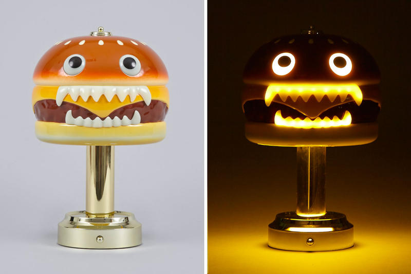 "UNDERCOVER x Medicom Toy ""Hamburger Lamp"" Returns design lights"