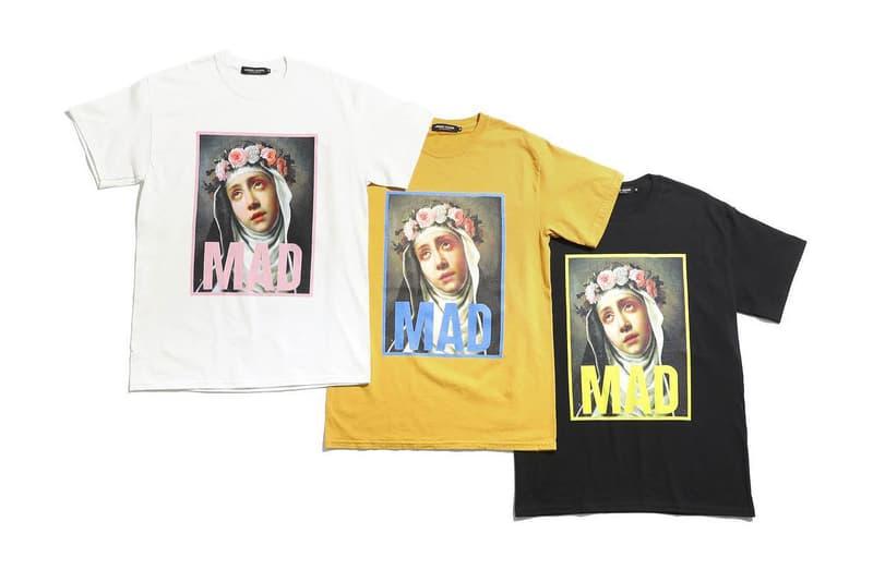 UNDERCOVER MADSTORE Laforet Harajuku Capsule 40 anniversary drop release print hoodie tee shirt coaches jacket exclusive tokyo japan october 27 2018