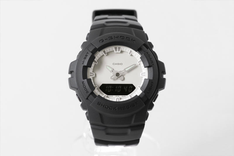 URBAN RESEARCH x Casio G-SHOCK G-100 Watch release date price black white 2018 collaboration price purchase buy online