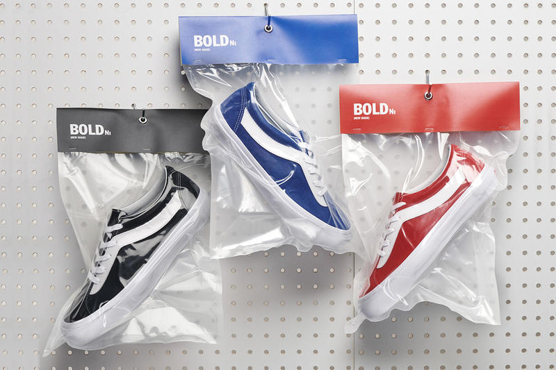 Vans Bold Ni Release Blue Red Black White sneaker footwear release info date Reintroduction