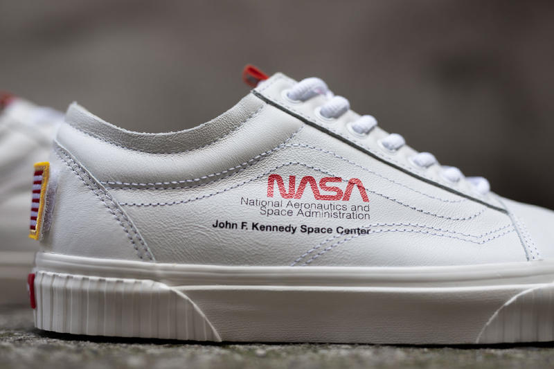 Vans Nasa Space Voyager Capsule Full Look Old Skool SK8-Hi True White  Firecracker orange b81f9c447