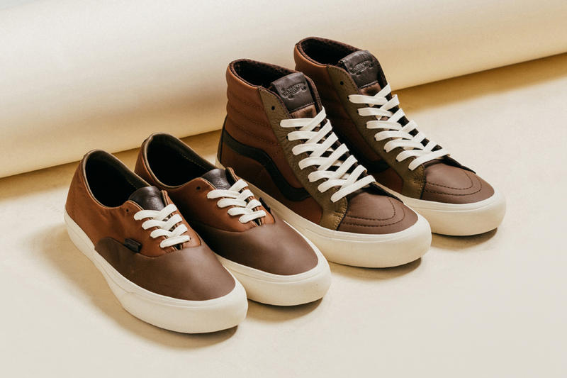 803926ce94f4af Vans Vault Premium Leather Multi Brown Pack authentic sk8-hi release info