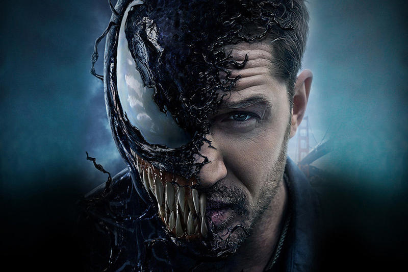Venom Opening October Weekend Record movie 2018 no 1 number one box office theater numbers